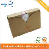 Brown Factory High Quality Packaging Paper Box (QY150006)