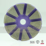 "3"" Diamond Metal Bond Floor Polishing Pads for Concrete Grinding"