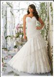 2016 Plus Size Lace Beaded Bridal Wedding Dresses PLD3191