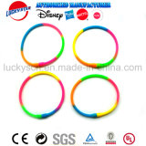 Rainbow Silicone Band Girl Jewelry Toy for Kid