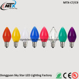 Professional Supplier 0.5W RGB Colorful Christmas LED Color Light Bulb