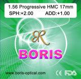 Progressive Cr39 1.56 Regular Corridor 17mm Hmc Optical Lens