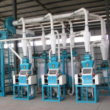 Automatic Wheat Corn Maize Meal Grinding Grits Milling Flour Mill