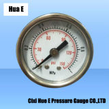 with Air-Bleed Hole 40mm Iron Housing of Pneumatic Pressure Meter