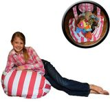 Stuffed Toy Storage Handle Bean Bag Storage with Zipper