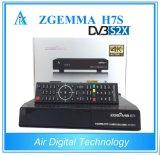 1700MHz 12K Dmips CPU Processor 4K UHD Zgemma H7s Satellite Receiver Combo 2*DVB-S2X+ DVB-T2/C IPTV Set Top Box