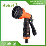 Cleaning Watering High Pressure 7-Pattern Metal Water Spray Gun