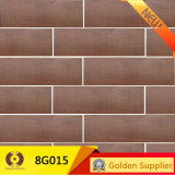 150X800mm Outside Building Material Wood Look Ceramic Floor Wall Tile (8G015)
