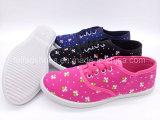 Comfortable Women Canvas Shoes Sneaker Shoes Wholesale (FPY818-15)