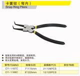 Cy-1186c 1187c 1189c Snap Ring Pliers (Internal Bent Tip)