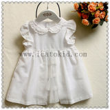 Pure 100% Cotton Baby Girl Everyday Dress for Little Baby Girl