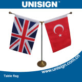 Unisign Hot Selling Y-Style Table Flag (UTF-1) with Customized Logo and Competitive Price