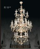 Magnificent Decorative Crystal Brass Chandelier Light Pendant Light