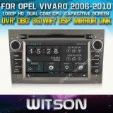 Witson Auto Radio GPS for Opel Vivaro (W2-D8828L)
