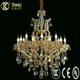 Luxury Crystal Chandelier Lamp (AQ01202-10+5+1)