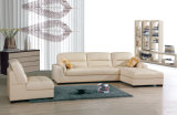 Modern Home/Living Room Furniture Leather Corner Sofa (826)