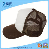 Sublimation Brown Color Fashion Mesh Hats
