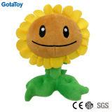 Custom Design Plush Toy Flower Stuffed Toy Sunflower