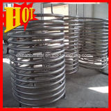 ASTM B338 Grade 1 Titanium Coil Pipe for Heat Exchanger