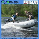 Hypalon/PVC Tube Rigid Inflatalbe Aluminum Boat for Fishing