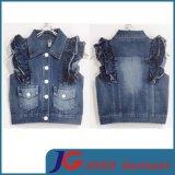 Sleeveless Girls Denim Waistcoat Manufacturer (JT5005)