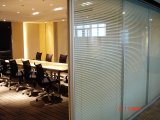 Aluminum Demountable Glass Partition Walls for Office, Meeting Room