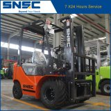 4 Way 1.8t Mini Forklift Snsc Small Fork-Lifter