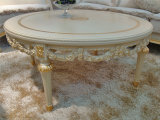 Divany European Luxury Classic Furniture Living Room Solid Wood Coffee Table