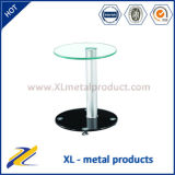 2015 Hot Sale Cheap Clear Glass Top Coffee Table