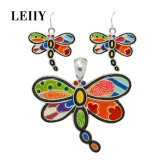 Multicolored Enamel Big Dragonfly Charms Fit DIY Necklaces Accessories