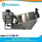 Multi-Plate Screw Press Sewage Treatment Device for Oily Better Than Belt Press