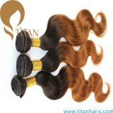 Body Wave Human Hair Weave Ombre Hair Weft