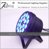 18 LED RGBWA Slim PAR 56 LED? DJ Lighting for Wedding Event Live Show