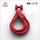 Forged Alloy Steel Clevis Selflock Hook/ Safety Hook