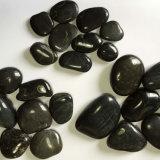 Black High Polished Natural Cobble &Pebble Stone (SMC-PB025)