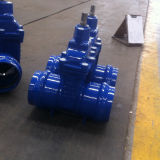 Non-Rising Stem Resilient Soft Seated Socket End Gate Valve for PVC Pipe