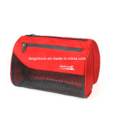 Promotional Red with Black Nylon Cosmetic Bag (KCC12)