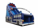 Party Rental Inflatable Amusement Park Giant Car Slide
