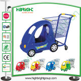 Hypermarket Children Shopping Cart with Baby Stroller