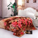 Super Soft Printed Flannel Blanket Sr-B170305-6 Printed Coral Fleece Blanket