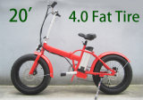 2015 New Style 20′ Folding Fat Electric Bike