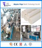 Plastic Conical Twin Screw Extrusion Line for PVC Pipe with Powder Materials