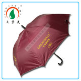 "27""*8k Promotional Trendy Silver Coated Straight Umbrella"
