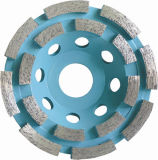 Diamond Cup Wheel with Aluminum Base