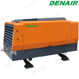 100 Cfm Diesel Driven Rotary Screw Air Compressor for Mining