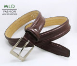 Classic and Basic Man Belt with Split Leather Linning M518
