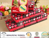 Fashion Cute 100% Cotton Cake Towel Wedding Gift