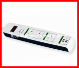 UL/cUL/ETL 3 Outlet Surge Protector, Power Strip with 2 Port USB for American Market (FC-16232)