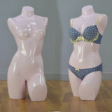 Yazi Fiberglass Female Torso Mannequin for Underwear Display
