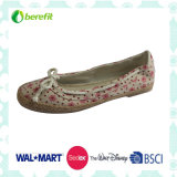 Lady's Casual Shoes with Beautiful Upper Design, Confortable Wear Feeling